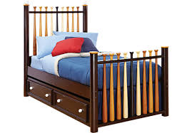 rooms to go twin beds shop for a batter up bed 3 pc baseball twin bed at rooms to go kids