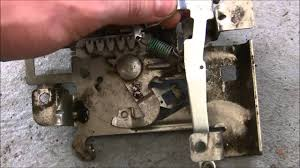 briggs and stratton 18hp intek governor plate arm set up youtube