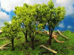 plastic miniature trees model trees plastic trees