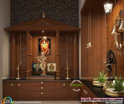 Pooja Room Designs In Kerala