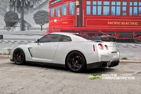 nissan gtr matte black and red acute performance gtr gets new wheels klassen m52 r 20