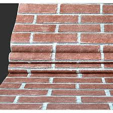 generic brick wallpaper for home classical wall covering pvc vinyl