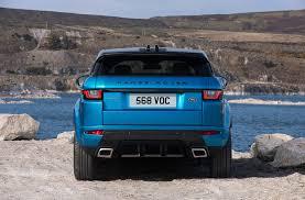 range rover evoque price range rover evoque landmark edition gets special shade of blue