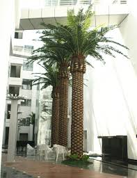 wholesale artificial canary date palm tree centerpiece decoration