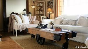 Industrial Cart Coffee Table Reimagine The Coffee Table Factory Cart Coffee Table Youtube