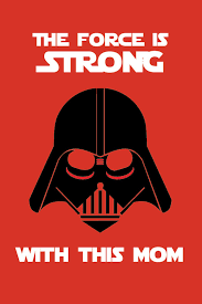 printable christmas cards for mom star wars inspired mother s day card printable or
