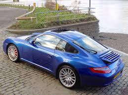 singer porsche blue classic chrome porsche 911 carrera 4s 2005 55 blue