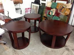 Coffee And End Table Set 2018 Popular Wood Coffee And End Table Sets