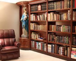 Custom Bookcase Custom Bookcase And Statue Niches U2013 South Chicagoland Illinois