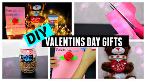 Homemade Valentine S Day Gifts For Him by Diy Valentine U0027s Day Gift Ideas For Him U0026 Her Youtube