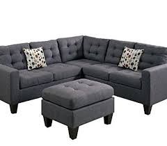 couch and ottoman set product reviews buy modern contemporary polyfiber fabric modular