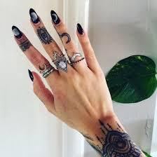 rings ebay images Jewels ring boho moon rings pink rings ebay cheaper version jpg