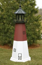 custom amish lighthouses up to 12 ft chesapeakecrafts