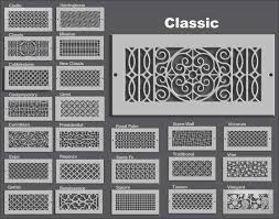 decorative air supply registers general heating air conditioning