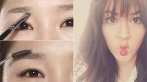 tutorial alis mata untuk wajah bulat ingin wajah bulat jadi tirus wajib coba dengan 3 bentuk alis ini