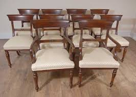 Regency Dining Table And Chairs 10 English Regency Trafalgar Dining Chairs Ebay