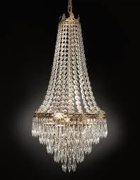 Vintage Crystal Chandeliers Chandelier Interesting Long Crystal Chandelier Remarkable Long