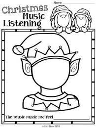 free christmas music listening worksheets christmas planning