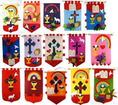 deluxe craft felt 1st holy communion banner kits class packs