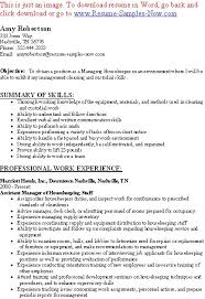 Example Housekeeping Resume by Unforgettable Housekeeping Aide Resume Examples To Stand Out