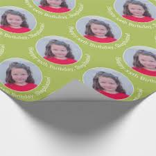 customized wrapping paper photo wrapping paper zazzle
