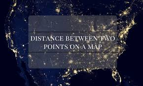 distance between two points map how to calculate distance between two gps coordinates