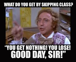 Good Day Sir Meme - what you get by skipping yoga class you get nothing you lose