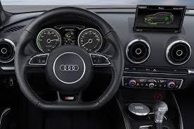 audi dashboard 2015 audi a3 e tron prototype quick drive motor trend
