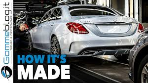 mercedes factory how it u0027s made mercedes benz c class 2017 car factory assembly