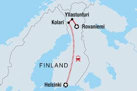 Scandinavia Blank Map by Finland Tours U0026 Travel Intrepid Travel Us