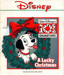 lucky christmas 101 dalmatians book cassette wendy baker
