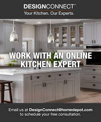 home depot kitchen cabinets consultation the home depot designconnect in 2021 diy kitchen remodel