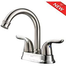 Pop Up Camper Sink Faucet Ultra Uf08042c Two Handle Chrome Non Metallic Series Lavatory