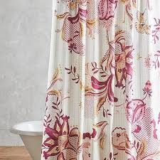 Pink Flower Shower Curtain Floral Pink Raspberry Shower Curtain Products Bookmarks Design