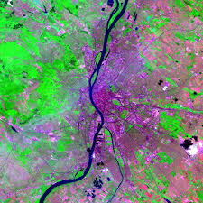 Budapest Hungary Map Maps Global High Resolution Urban Data From Landsat Sedac