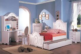 Pearl White Bedroom Set For Girls Pearl White Youth Twin Sleigh Trundle Bedroom Set For Girls With
