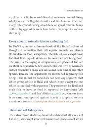wonders of fish interesting questions u0026 answers