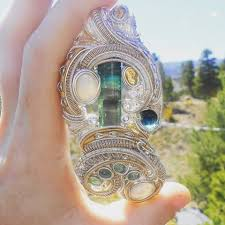 custom heady wire wrap pendant ultimate wizard jewelry high end