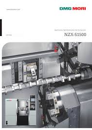 nzx s 1500 dmg mori pdf catalogue technical documentation