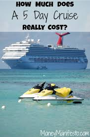 how much is a cruise here s how much a cheap cruise cost us