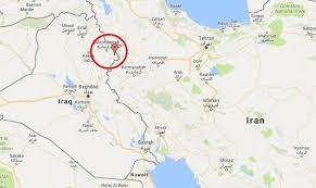 map iran iraq 372 died and around 6000 injured in iran iraq border earthquake