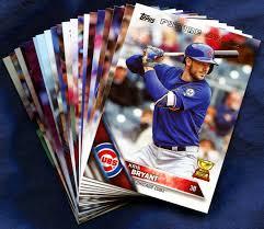 2016 topps chicago cubs baseball cards team set