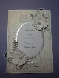 handmade silver wedding cards search handmade cards