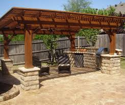 Rustic Patio Designs by Decks And Patio Covers Grb Design