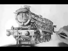 harry potter hogwarts express train portrait youtube