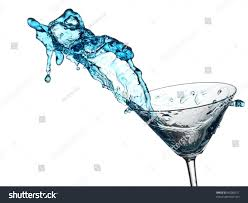 martini cocktail splash blue cocktail splash glass stock photo 84288511 shutterstock