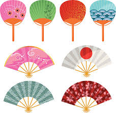 japanese fan japanese fan clip vector images illustrations istock