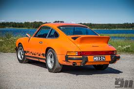 Porsche 911 Orange - 911 83 engine a porsche 911 history total 911