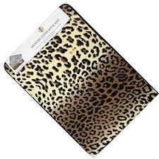 leopard print bathroom decor