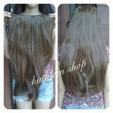 jual hair clip jual hair clip light brown lurus hairclip